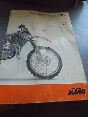 Ktm Xs 85 2010 Owners Manual