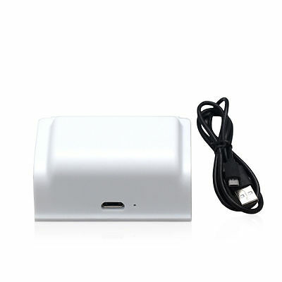 Rechargeable White Battery Pack w/USB Charging Cable For Xbox One S Controller