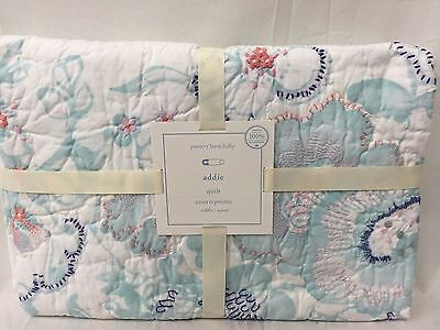 NEW Pottery Barn Kids Addie Crib Toddler Nursery Quilt