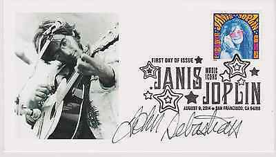 Signed John Sebastian Fdc Autographed First Day Cover Lovin' Spoonful Woodstock