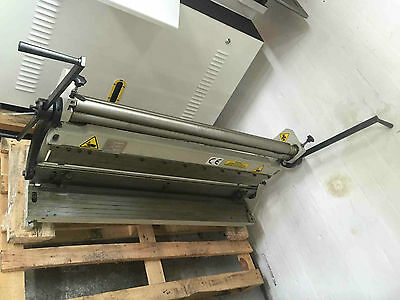 New sheet metal bending roll, folder and shear in one