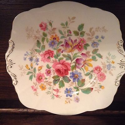 Vintage Paragon china English Floral Bread & Butter plate