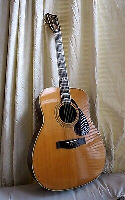 Beautiful Yamaha FG-375 S Acoustic Guitar 1970s One Of First Made