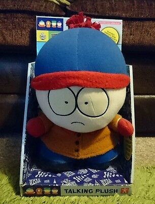 Comedy Central South Park Stan Talking Plush NEW