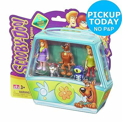 Scooby Doo Mystery Minis Action Figures - 5 Pack (style A)