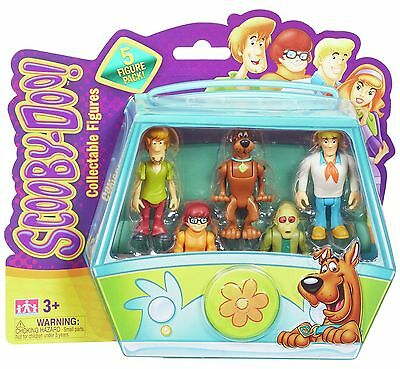 Scooby Doo Mystery Minis Action Figures - 5 Pack (style B)