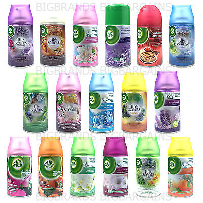 6 x Airwick Air Wick Freshmatic Automatic Spray Refills 6 Pack Home Scent 250ml