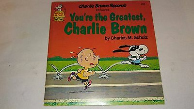Charlie Brown Records Presents You're The Greatest Charlie Brown Read Along 45