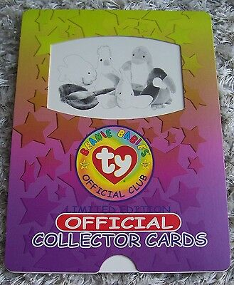 105 different mint Ty Beanie Babies Collector Cards incl chase cards & checklist