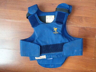 Childs Racesafe Horseriding Equestrian Body Protector Size Medium