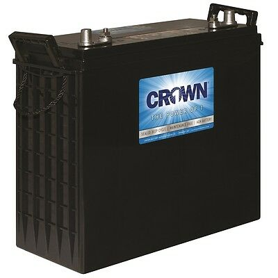 Crown 12CRV230 AGM Sealed Deep Cycle Battery - 12 Volts, 230 AH/20H (Set of 8)