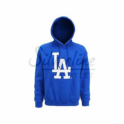 LA Dodgers Large Logo Baseball Hoody Official Licensed Sports Hoody Top Sweat