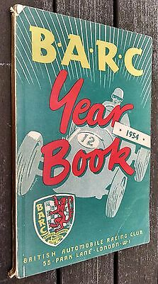 1954 BARC British Automobile Racing Club 1954 Year Book