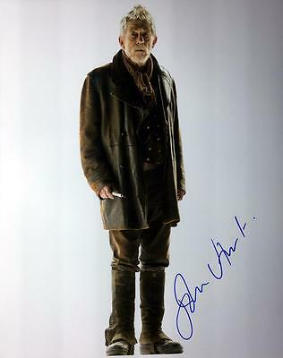 John Hurt (Doctor Who) Hand Signed Authentic 10x8 Photograph COA