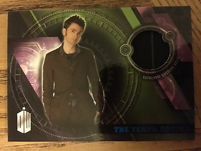 Topps Doctor Who Timeless 2016 Tenth Doctor Trousers Blue Costume Card 09/99