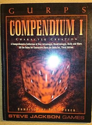 3rd Edition GURPS Compendium 1 Softcover Steve Jackson Games