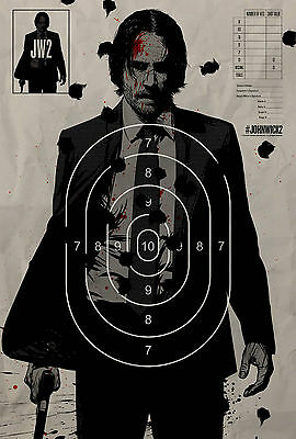 "John Wick: Chapter Two :  Movie 27""x40"" HI-RES POSTER VINYL B"