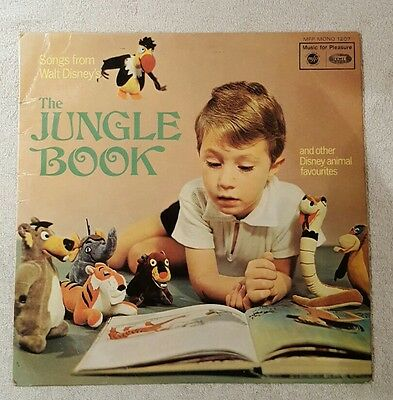 Songs from Walt Disney The Jungle Book lp .