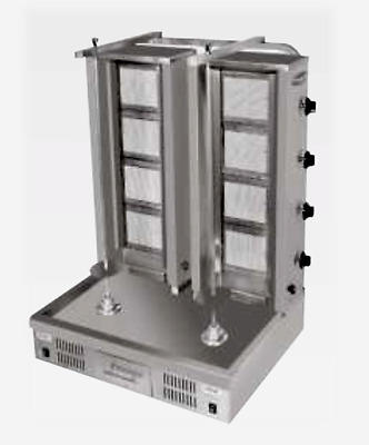 GYRO SHAWARMA DONER MACHINE GAS Double Set TOP QUALITY