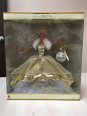 Celebration Barbie Special 2000 Edition MILLENIUM Doll Gold New Years Eve NYE
