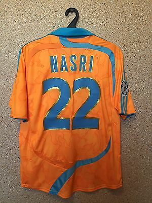 Olympique Marseille France 2007/2008 THIRD FOOTBALL SHIRT JERSEY MAGLIA 22 NASRI