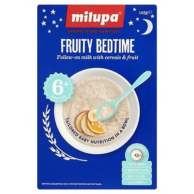 Milupa Fruity Bedtime Cereal 6 Months Plus 125 Grams