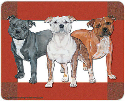 Staffordshire Bull Terrier Large Cutting Board