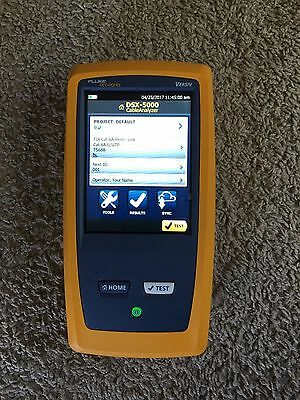 Fluke Networks DSX-5000 Network Cable Analyzer Versiv