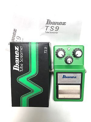 Ibanez TS-9, Tube Screamer, Overdrive, Original Boxing, As New, Guitar Effect