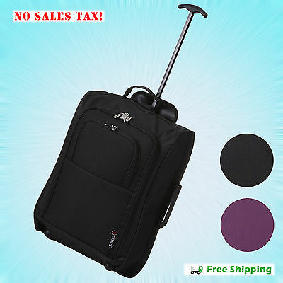 Spinner Rolling Luggage Wheeled Carry-On Suitcase Trolley Lightweight Travel Bag