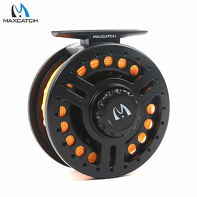 5/6WT Fly Reel Combo Graphite Fly Fishing Reel & Fly Line & Backing
