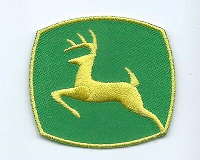 John Deere owner/operator patch 2 X 2-1/8 small size #834