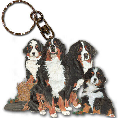 Bernese Key Ring