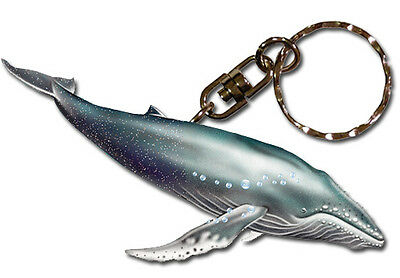 Humpback Whale Key Ring
