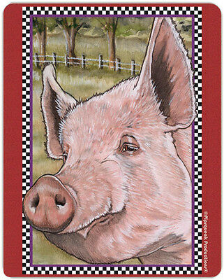 Pig Large Cutting Board