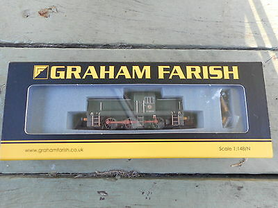 372-953 Class 14 Diesel BR Wasp Stripes (weathered) Graham Farish N scale