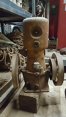 Antique Scott Hit and Miss Gas Engine