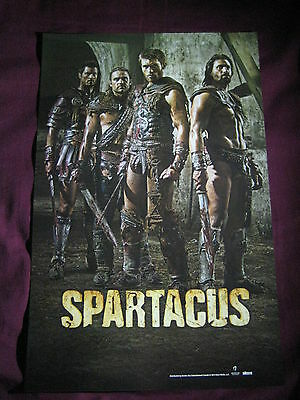 Spartacus Black Sails Double Sided TV Show Promo Poster Fan Expo Comic Con 2014