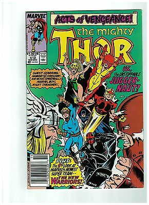 Mighty Thor # 412 NM Marvel Comics First Full New Warriors