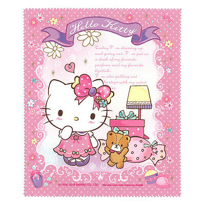 2016 Sanrio Hello Kitty Lens Cleaning Cloth for any delicate surfac