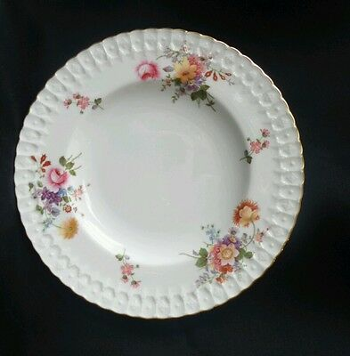 Royal Crown Derby Posies Vintage Dinner plate with Gold trim 23cm England