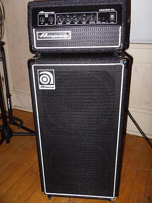 Ampeg Micro CL Stack