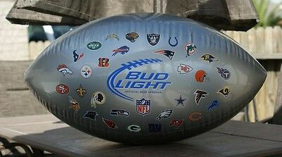 Budlight NFL All Teams 2 Inflatables Authentic