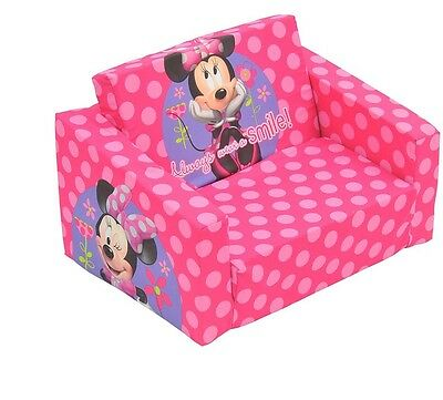 New Kids Disney Minnie Mouse Flip out Flipout sofa Chair Day Bed