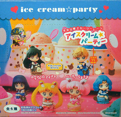Sailor Moon Ice Cream Party Figur Sailor Pluto Neu in Box