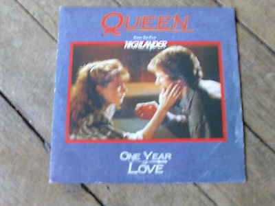 QUEEN One year of love / gimme the prize  FRENCH ONLY RARE