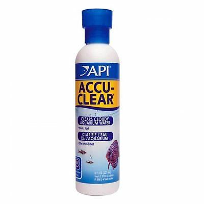 API Accu Clear 237ml Cloudy Aquarium Water Fast Working Aquarium Fish Tank