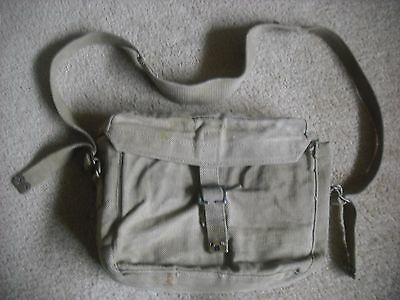 A Genuine Ww2 Royal Signals / Motorcycle Dispatch Riders  Satchel  Dated 1945
