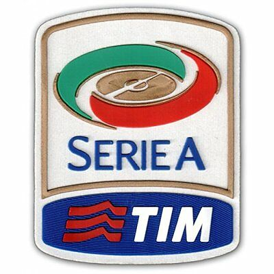 Official Serie A 2010-2015 Patch TIM Toppa Calcio Soccer Italia Football Badge