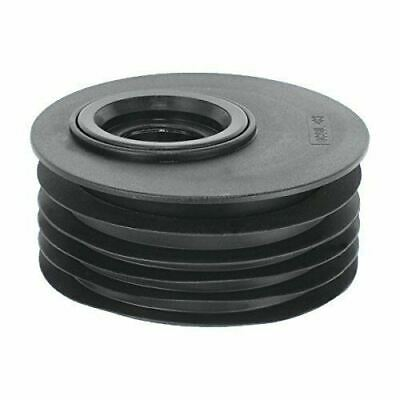 """Mcalpine Drain Soil Pipe Reducer 110mm 4"""" to 40mm & 32mm DC2-BLOS Offset Hole"""